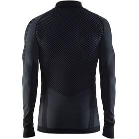 Craft M's Active Intensity Zip Shirt Black/Granite
